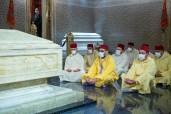 HM King Mohammed VI, Commander of the Faithful, Visits Grave of Late HM King Mohammed V