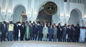 Leaders of states participating at 15th Franco African Summit - Casablanca, 1988