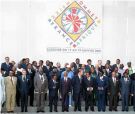 21th Franco African Summit in Cameroon Yaoundé, 2001