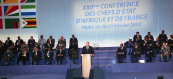 XXIIth Franco African Summit - Paris, 2003