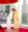 Tetouan: HM King Mohammed VI, Commander of the Faithful, receives the wishes of Crown Prince Moulay El Hassan