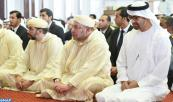 HM King Mohammed VI, Commander of the Faithful, performs Friday Prayer in Sultan Bin Zayed I Mosque in Abu Dhabi