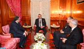 HM King Mohammed VI receives, at Casablanca's royal palace, minister of justice and liberties Mustapha Ramid, and minister of endowments and Islamic affairs Ahmed Toufiq