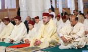 HM the King, Amir Al Mouminine, and Tunisian President perform Friday prayer in Imam Malik Ibn Anas Mosque in Tunis