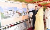 His Majesty King Mohammed VI, Commander of the Faithful, lays foundation stone for construction of mosque in Rabat