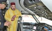 Casablanca - Mohammed V Airport: RAM's Boeing 787 Dreamliner presented to HM the King