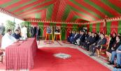 HM the King chairs in Martil signing ceremony of ten conventions for development of aquaculture projects