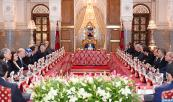 HM King Mohammed VI chairs, at the Royal Palace in Fez, ministers cuncil