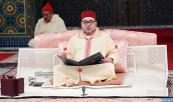 HM King Mohammed VI, Commander of the Faithful, chairs at the Royal Palace of Casablanca the fifth religious lecture of the Hassani lectures of the holy month of Ramadan