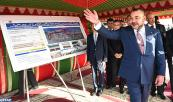HM King Mohammed VI Launches Development Works of Coastal Esplanades in Dar Bouazza (Casablanca)