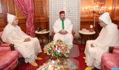 HM King Mohammed VI receives at the Royal Palace of Casablanca, Mohamed Aoujjar, whom the Sovereign appointed ambassador, permanent representative of the Kingdom to the United Nations office in Geneva