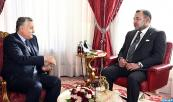 HM King Mohammed VI receives, at the Rabat Royal Palace, Mohamed Nabil Benabdellah, secretary general of the Progress and Socialism Party (PPS)