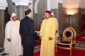 HM the King Receives Several Foreign Ambassadors in Tetouan