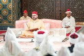 HM King Mohammed VI Chairs Second Religious Lecture of Ramadan in the royal palace of Casablanca