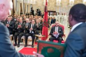 HM King Mohammed VI Chairs, at the Rabat Royal Palace, Signing Ceremony of Agreements on Nigeria-Morocco Gazoduc Project, Fertilizer Cooperation