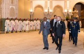 HM King Mohammed VI receives, at the Royal Palace of Casablanca, President of the Republic of Guinea, H.E. Alpha Condé