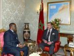 SM el Rey Mohammed VI recibe en Abiyán al presidente de la Asamblea Nacional de Costa de Marfil