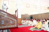 SM el Rey cumple la oración del viernes en la mezquita Al Imane en el barrio Barnoussi en Casablanca