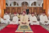 HM the King, Commander of the Faithful, performs Friday prayer in Rabat Arridouan Mosque