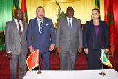 HM the King and Senegalese head of state chair ceremony to set up Moroccan-Senegalese economic impetus group