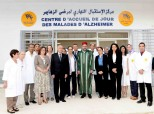 HM King Mohammed VI inaugurates, at the Ennahda neighborhood in Rabat, a day care center for patients with Alzheimer's disease
