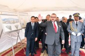 HM King Mohammed VI Launches Building Works of 'Community Medical Center - Mohammed V Foundation for Solidarity' in Casablanca