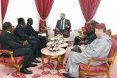 En el marco de los contactos regulares entre los dos Jefes de Estado, SM el Rey recibe a un emisario del presidente marfileño