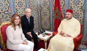 HM King Mohammed VI receives, at the Royal Palace in the northern city of Tetouan, Susana Diaz Pacheco, president of the Regional Government of Andalusia