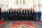 HM King Mohammed VI appointes, in the Throne Hall in the Royal Palace in Rabat, the new government