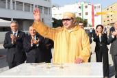 SM el Rey coloca en Casablanca la primera piedra de la sección regional del Centro Nacional Mohammed VI de los Discapacitados