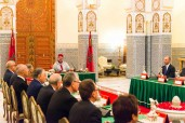 HM King Mohammed VI Chairs Ministerial Council in the Royal Palace in Marrakech