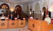 HM King Mohamed VI chairs, in the Royal Palace of Casablanca, The Ministers' Council
