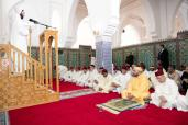 HM King Mohammed VI, Commander of the Faithful, performes Friday prayer at Abou Obeida Ibn Al Jarrah mosque in Tangier