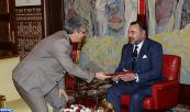 HM King Mohammed VI receives,at the Marchane Palace in Tangiers, envoy of the President of the Republic of Tunisia, Moncef Marzouki