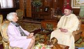 HM the King receives IMF managing director