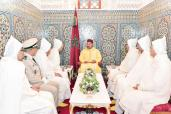 HM the King, Amir Al Mouminine, receives official delegation heading to Islamic holy sites for pilgrimage