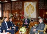 HM the King Receives French Prime Minister