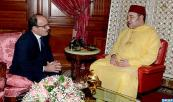 HM the King Receives, at the Royal Palace in Casablanca, Ilyas El Omari, following his election as secretary general of the Authenticity and Modernity Party (PAM)