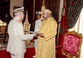 Throne day: HM the King Receives the Best Wishes of Royal Armed Forces