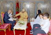 HM the King Receives Family Members of Late Loubna Lafquiri, Moroccan Victim of Brussels Attacks