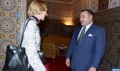 As part of privileged relations between Morocco, UK, HM the King receives Lord Mayor of London