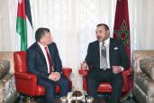 Reunión cara a cara entre SM el Rey Mohammed VI y el Rey de Jordania