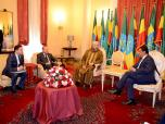 HM the King Pays Courtesy Visit to Ethiopian President