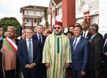 HM King Mohammed VI visits 'Les thermes' Hotel Where Late King Mohammed V Stayed in Exile