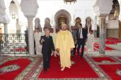 HM the King visits revamped Moulay Idriss Al Azhar Mausoleum in Fez