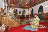 HM King Mohammed VI visits Antsirabe Mosque Which Sovereign Re-named 'Mohammed V Mosque'