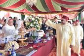HM the King Chairs in Tetouan Banquet on Throne Day