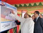 SM el Rey lanza los trabajos de construcción del nuevo puerto de Safi - 19 abril 2013