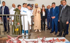 Souss-Massa Region: Royal Concern for Small-scale Fishing Sector Reflected in Inauguration of Landing Point in Imourane