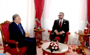 HM the King Receives New PPS Secretary General
